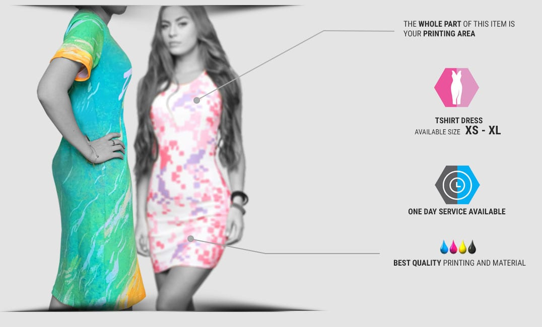 tshirt dress specification