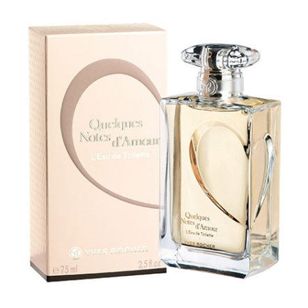 Quelques Notes D'amour Eau De Toilette - 75 ml