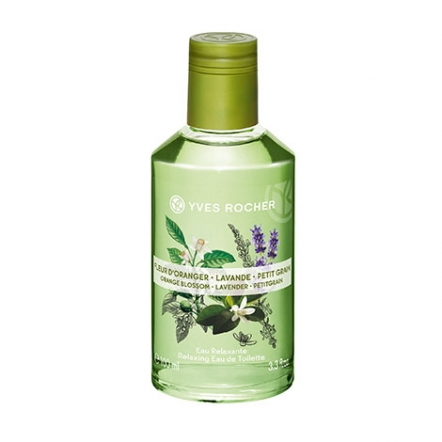 Relaxing Fragrance Mist Orange Blossom-Lavender-Lemongrass - 100 ml