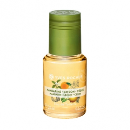 Mandarin Lemon Cedar  Eau De Toilette - 20 ml