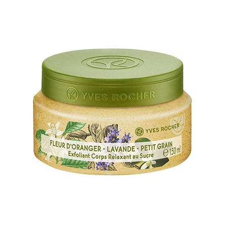 Relaxing Sugar Body Scrub Orange Blossom - Lavender - Lemon Grass - 150 ml Jar