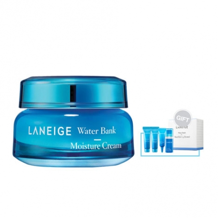 Laneige Water Bank Moisture Cream + Gift