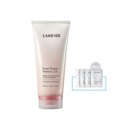 Foam Cleanser Moisture_EX + Gift