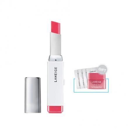 Two Tone Lip Bar - No.6 (Pink Step) + Gift