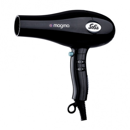 Hair Dryer Solis Magma Black