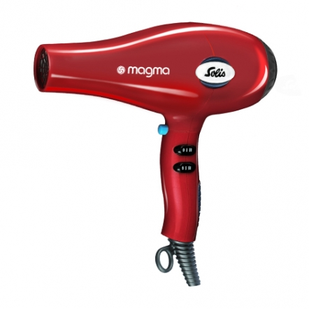 Hair Dryer Solis Magma Red