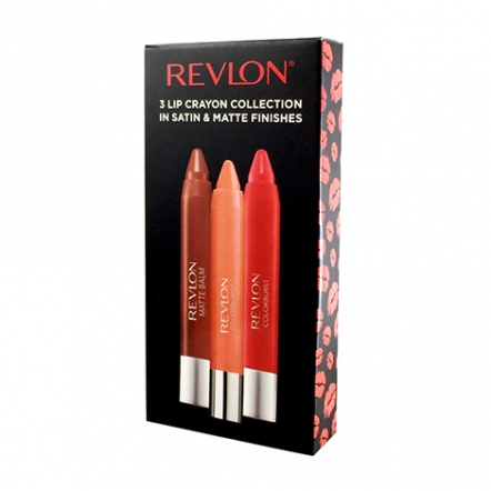 Revlon Lip Crayon Collection Package
