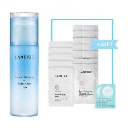 Laneige Essential Balancing Emulsion Light + Gift