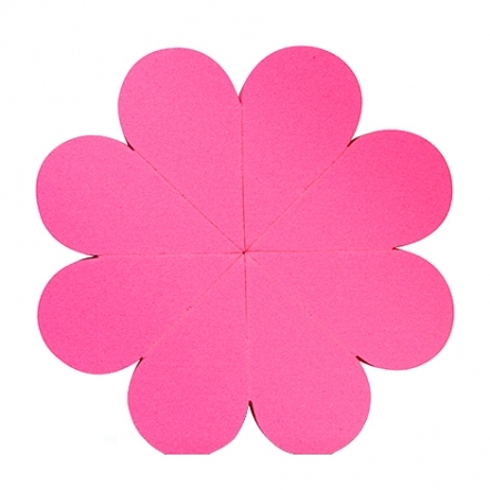 Flower Sponge - Pink