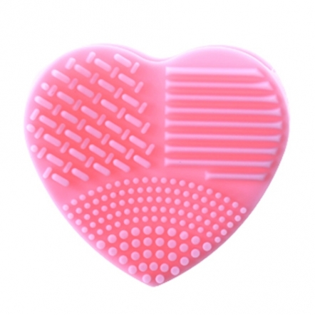 839 Makeup Brush Cleaner Heart