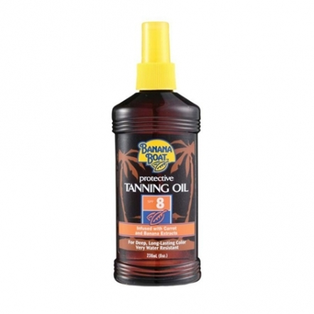 Protective Tanning Oil SPF 8