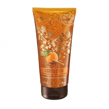 Clementine & Spices Exfoliating Shower Gel