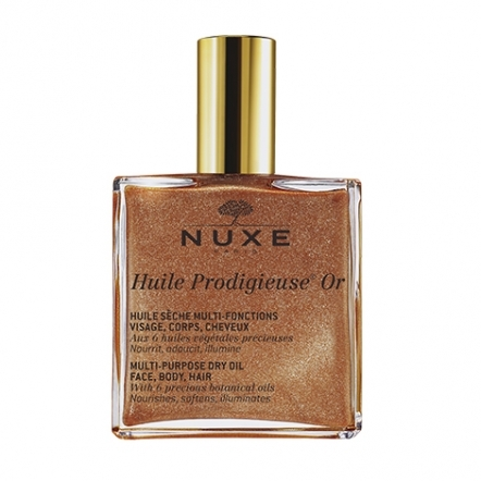 Multi-Usage Dry Oil Golden Shimmer