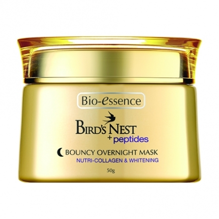 Bird's Nest + Peptides Bouncy Overnight Mask