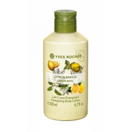 Energizing Body Lotion Lemon Basil