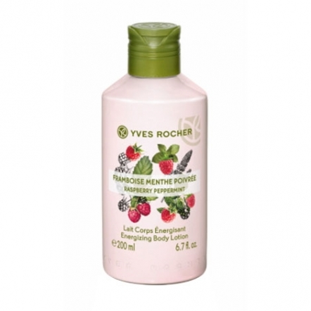 Energizing Body Lotion Raspberry Peppermin