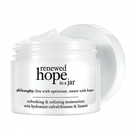 philosophy renewed hope in a jar day moisturizer