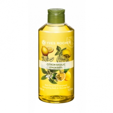 Yves Rocher Energizing Shower Gel Lemon Basil