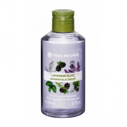 Yves Rocher Relaxing Shower Gel Lavandin Blackberry