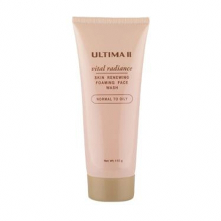 Ultima II Vital Radiance Foam Face Normal To Oil