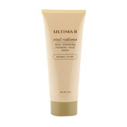 Vital Radiance Foam Face Normal To Dry