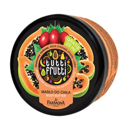 Papaya & Tamarillo Body Butter