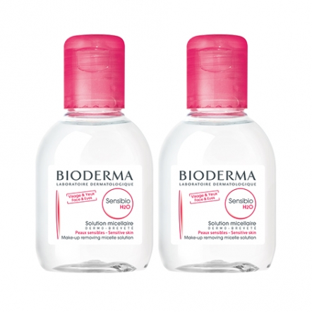 Bioderma Sensibio H2O Duo Mini Pack