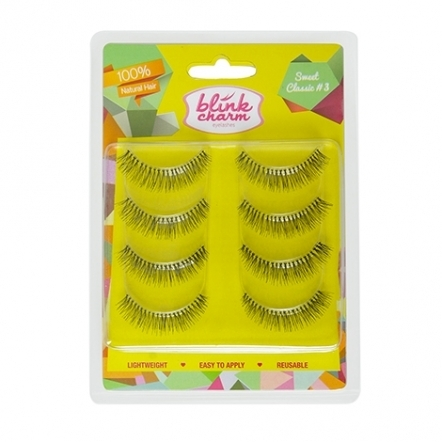 Blink Charm Eyelashes Sweet Classic Value Pack No.3 - 4 Pairs