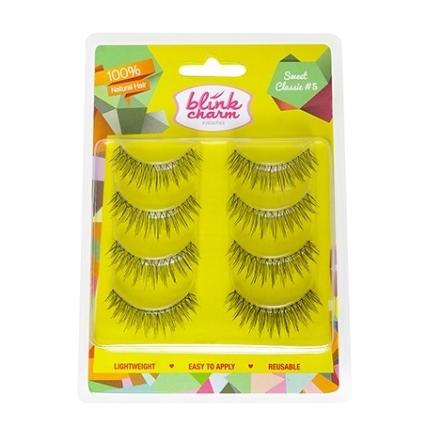 Blink Charm Eyelashes Sweet Classic Value Pack No.5 - 4 Pairs