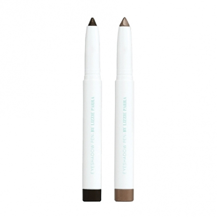 Duo Eyeshadow Pen (Charcoal Black + Creme Gold)