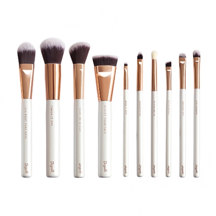 Beauty Brush Collection - Grown Ups (Set of 10)  with Acrylic Holder