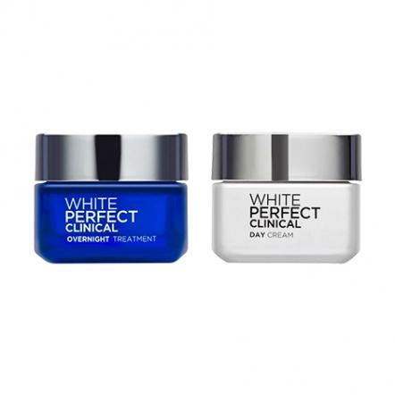 White Perfect Clinical Cream Set