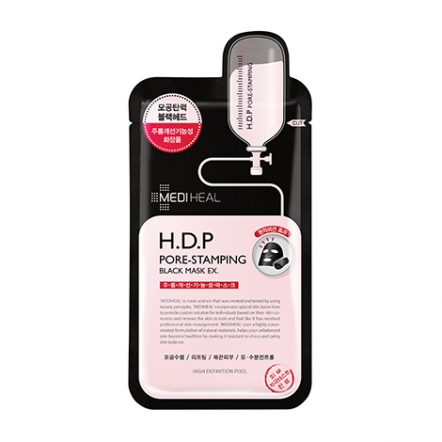 H.D.P Pore-Stamping Black Mask EX