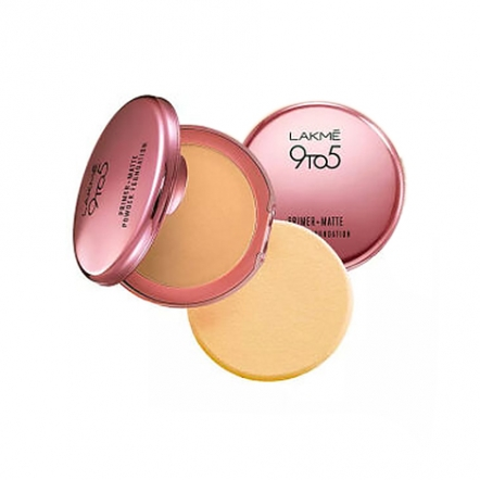 Lakme 9To5 Reinvent Primer + Matte Powder Foundation Compact
