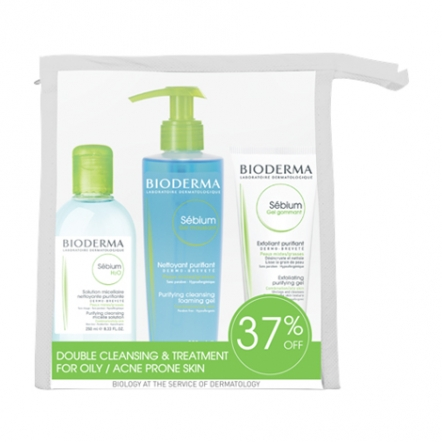 Sebium Double Cleansing and Exfoliating