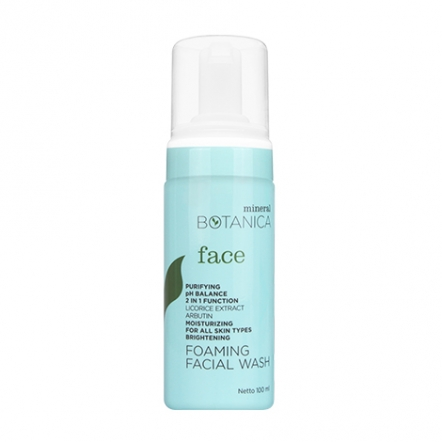 Brightening Foaming Facial Wash