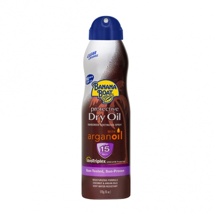 Banana Boat Protective Dry Oil With Argan Oil SPF15