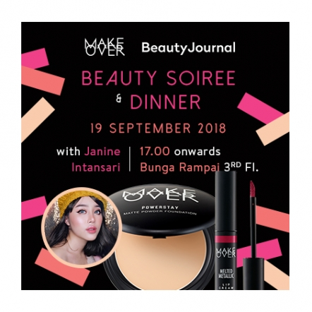 Make Over Beauty Soiree Ticket