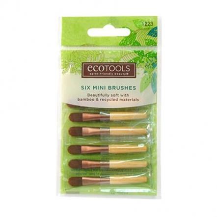 Ecotools 6pcs Mini Brushes