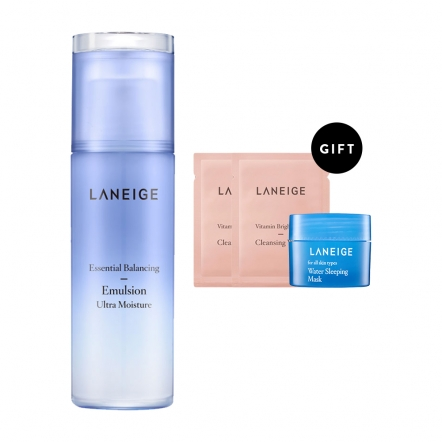 Laneige Power Skin Emulsion_Ultra Moisture Set (OL17)