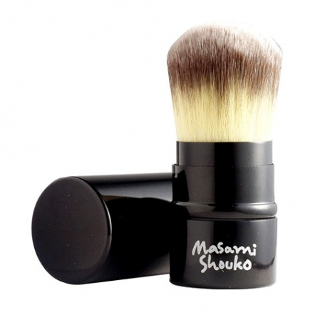 Masami Shouko Retractable Kabuki Round Foundation Brush