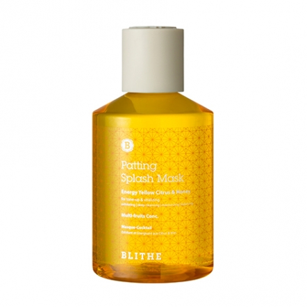 Patting Splash Mask Energy Yellow Citrus & Honey