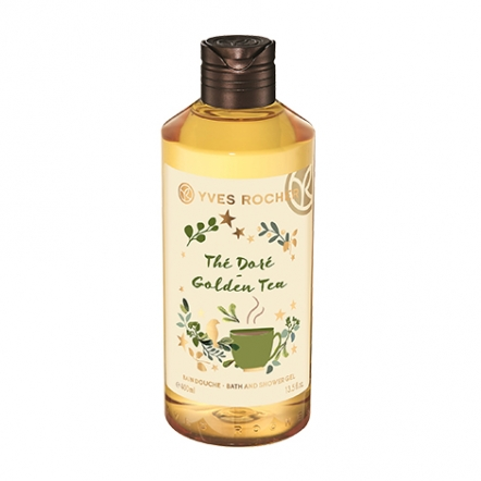 Christmas Edition Golden Tea Shower Gel