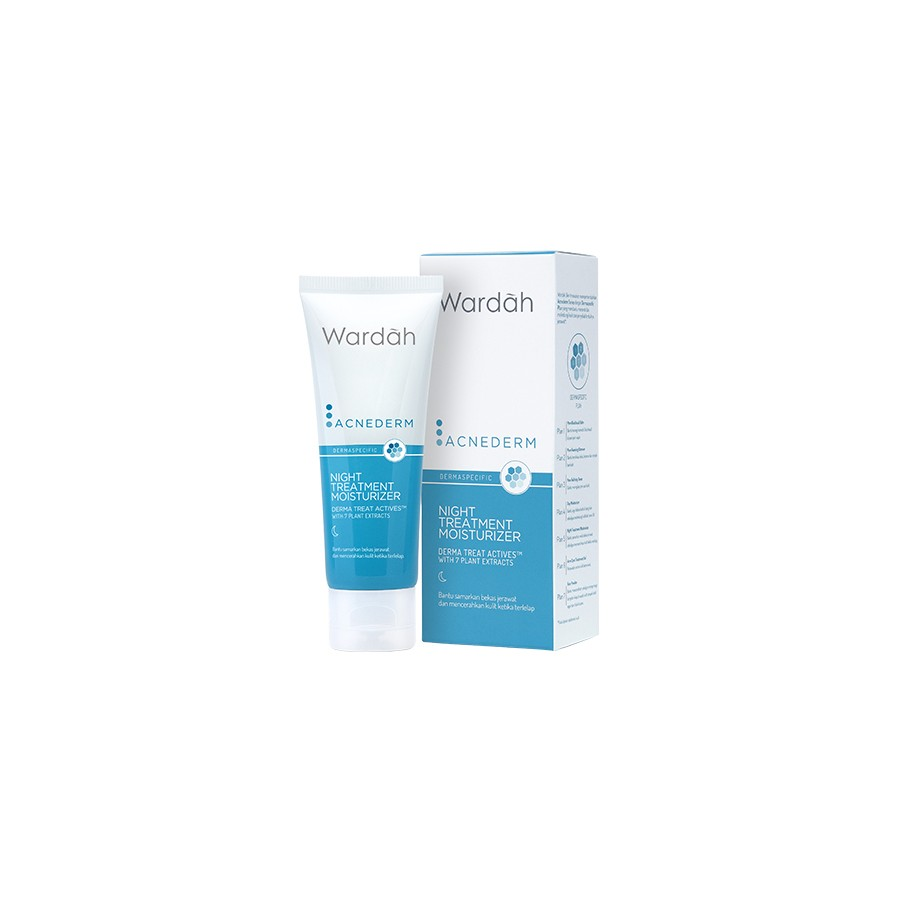 Acnederm Night Treatment Moisturizer