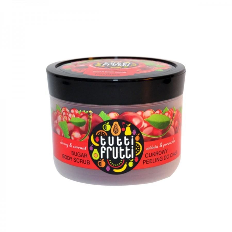 Cherry & Currant Sugar Body Scrub