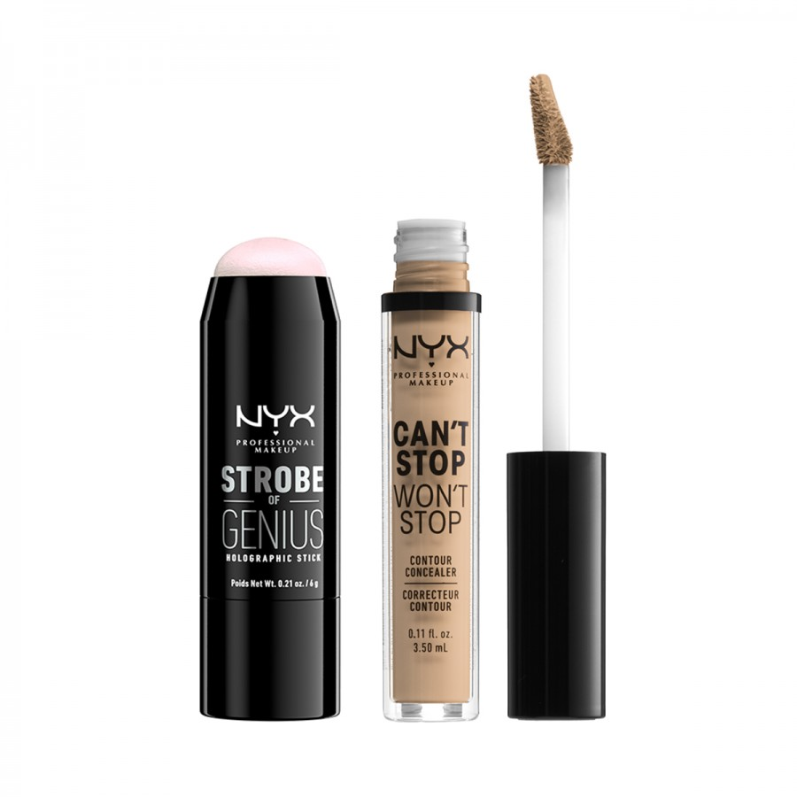 Can't Stop Won't Stop Concealer + Strobe of Genius Highlighter Set