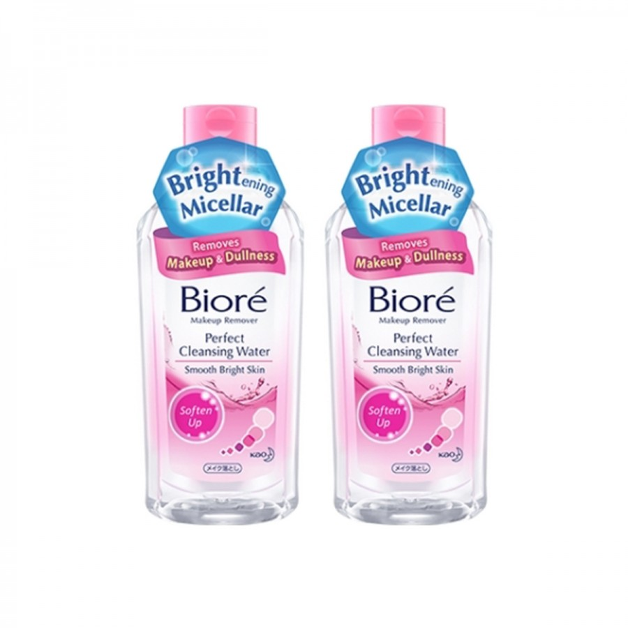 Biore cleansing water soften up 300ml twinpack