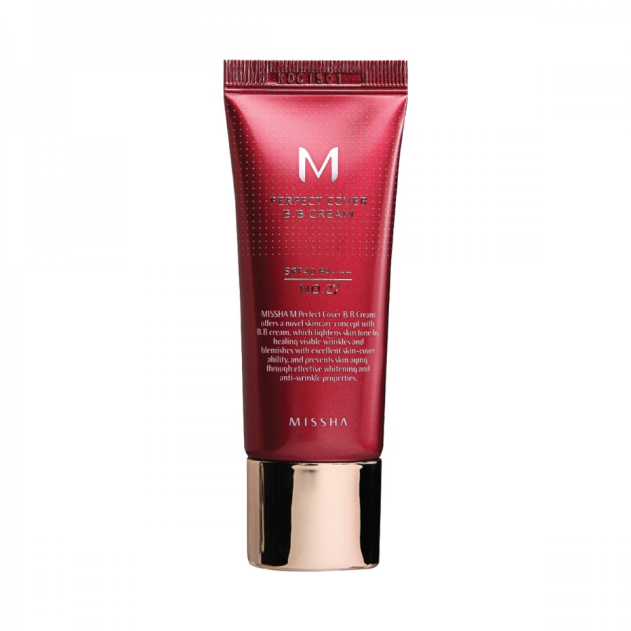 M Perfect Cover BB Cream SPF 42 PA+++ (No.27/Honey Beige)
