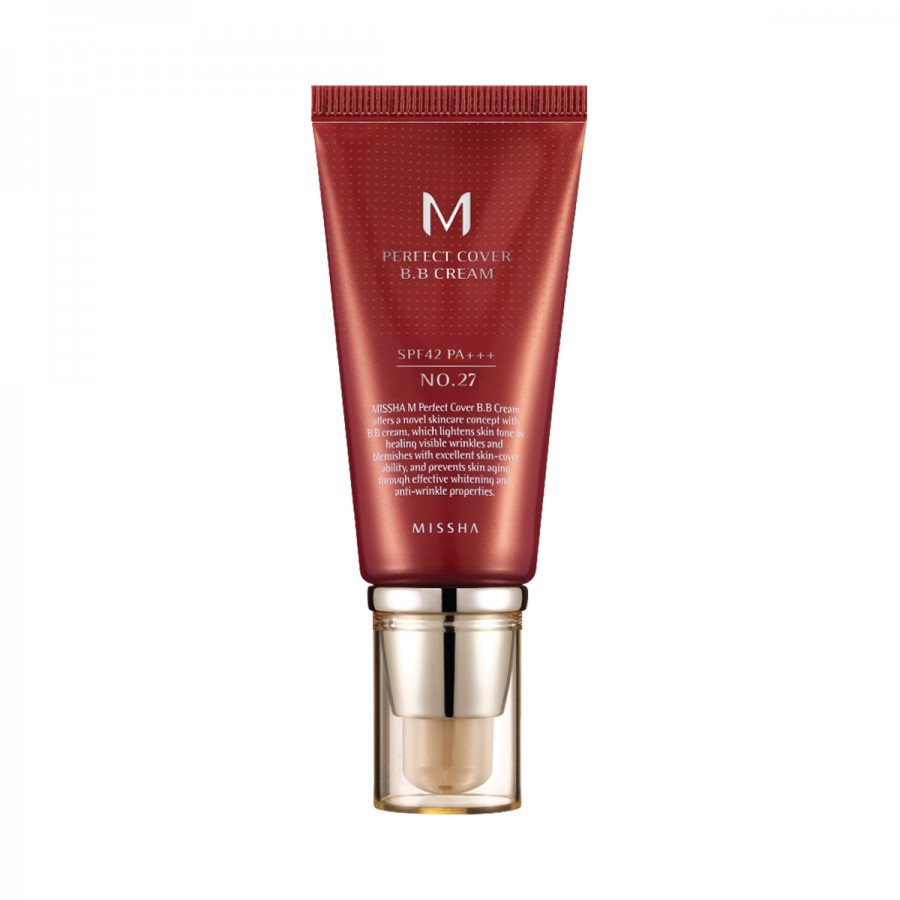 M Perfect Cover BB Cream SPF 42 PA+++ (No.27/Honey Beige)