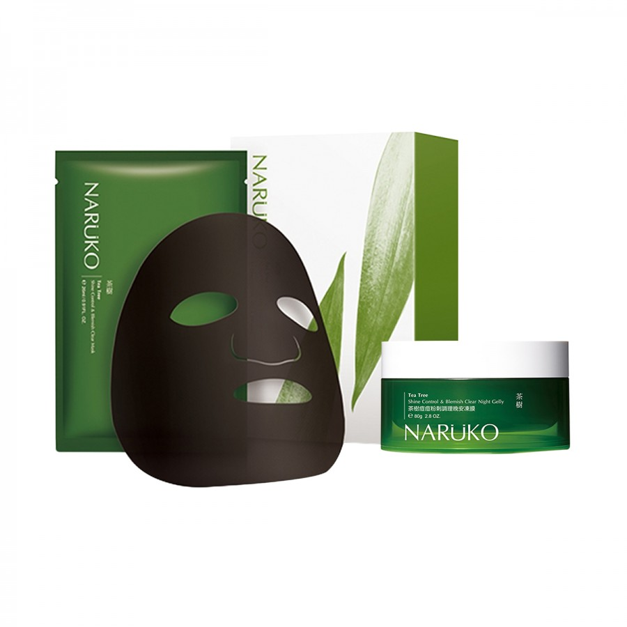 Tea Tree Night Gelly & Mask